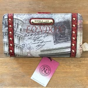 Nicole Lee Wallet- Gift Box Included